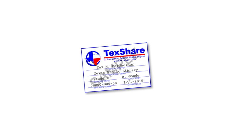 TexShare library card