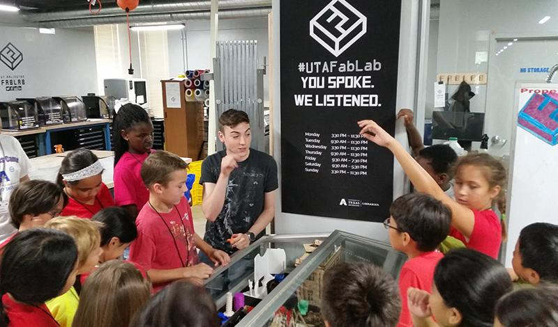 K-12 Tour in the FabLab