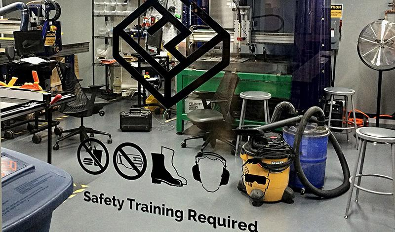 Shop Room: Safety Training Required