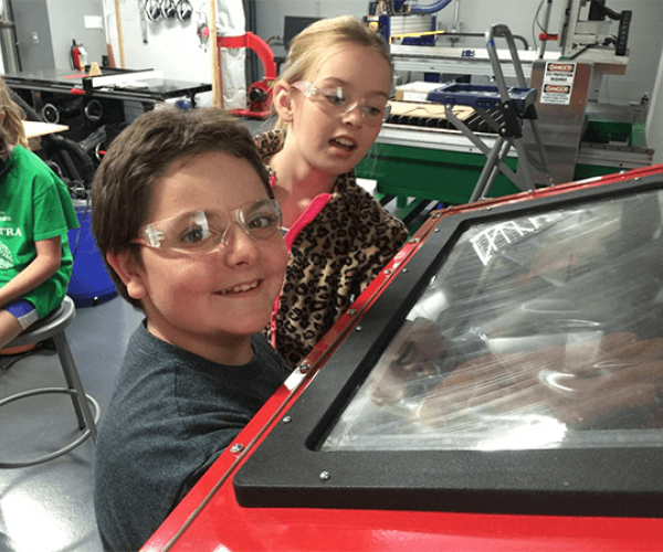 K-12 students in the FabLab